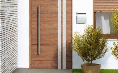 Aluminiowe drzwi wejściowe Krispol SOLANO