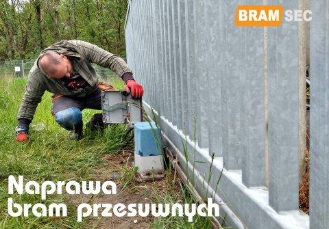 naprawa bram wjazdowych BRASMEC